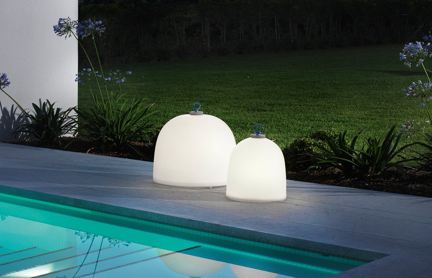campanone outdoor Floor Light – White