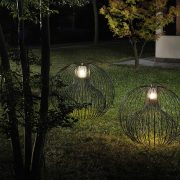 Icaro Floor outdoor Light