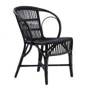 Wengler Rattan Chair – Black