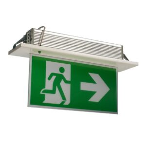 Bogdania Exit light - Recessed