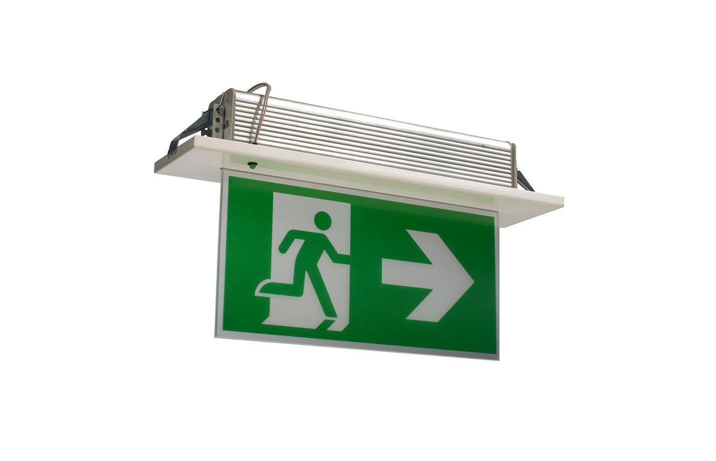 Bogdania Exit light – Recessed