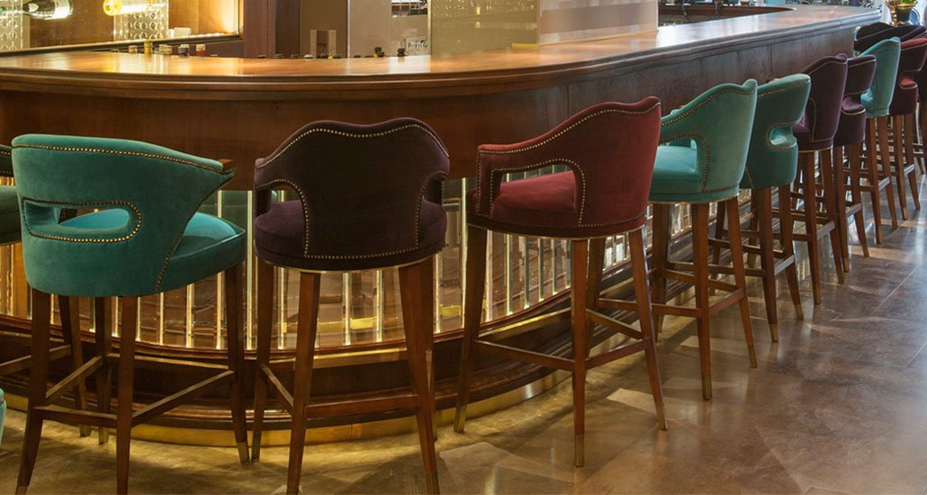 Mid century furniture for hotel Option 6