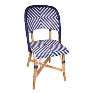 Chambord-S-white-ultramarine-blue-Rattan-Side-Chair-01