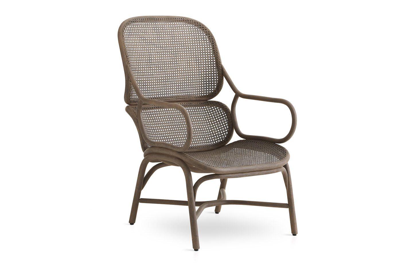 Frames-high-back-Lounge-Arm-chair-Grey