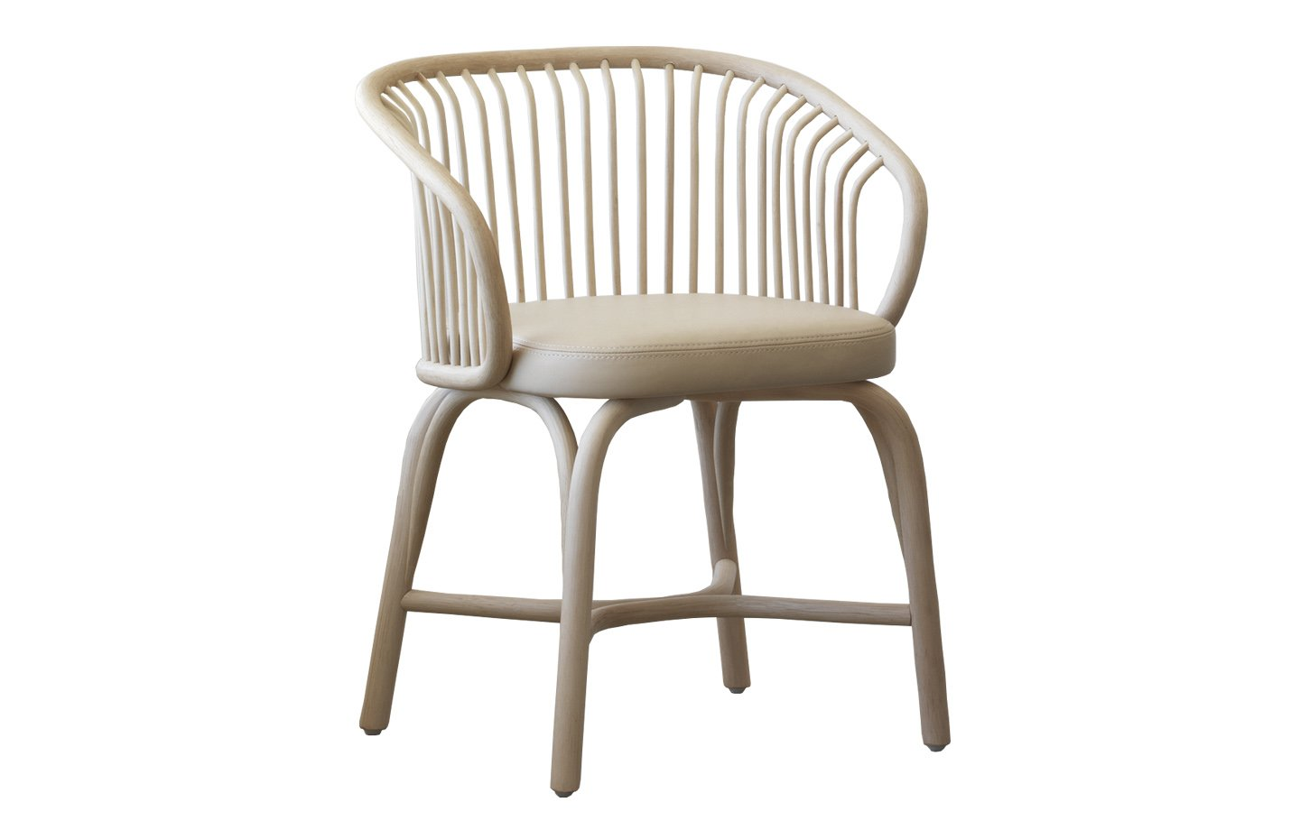 Huma Rattan Armchair - Natural by Expormim Fabric - Dolce 24