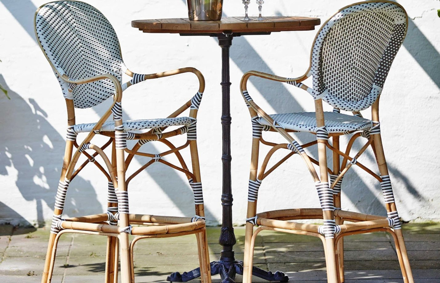 Picture of: Isabell Rattan Bar Stool By Sika Design Fabiia Com