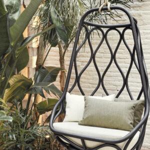 Nautica-Rattan-swing-chair-black-LS01