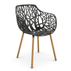 Forest-Dining-armchair-Iroko-Black