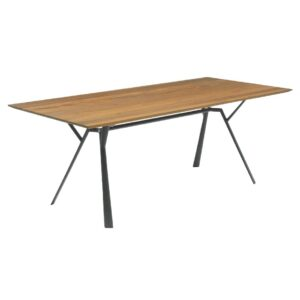 aluminium-outdoor-table-with-teak-top-Fast