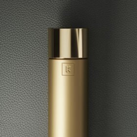 Gold Brushed Stainless Steel Matte