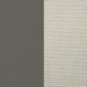 Aluminium warmgrey + Acrylic Nature White