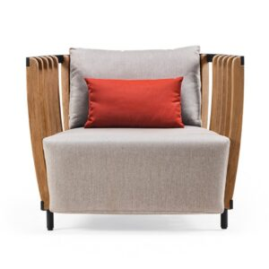 Swing-armchair-natural-teak-with-cushion